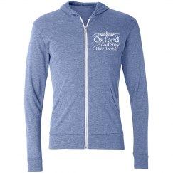 blue zipup hoodie