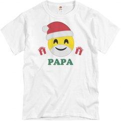 Xmas Papa Emoji PJs