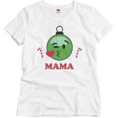 Xmas Mama Emoji Pjs
