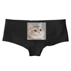 Heavy Breathing Cat Butt