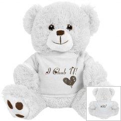 I Chub U Bear in Bear Wear