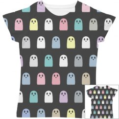 Pastel Ghosts All Over Print