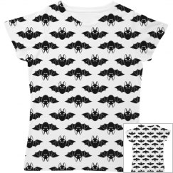 Simple Little Bats All Over Print