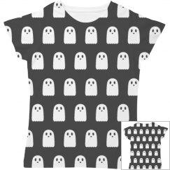 Kawaii Ghosts All Over Print