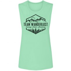 Team Wanderlust Muscle Tank