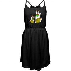 Maneki-inu dress