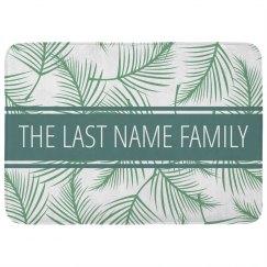 Custom Family Last Name Tropical