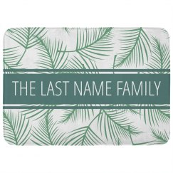 Custom Family Last Name Tropical