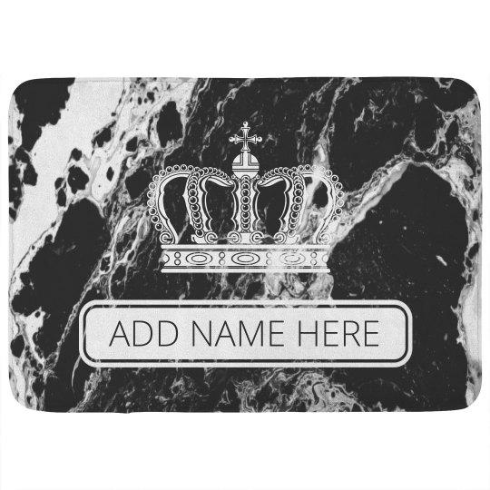 Custom Marble King Queen Decor