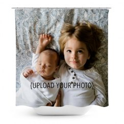 Custom Photo Upload Shower Curtain