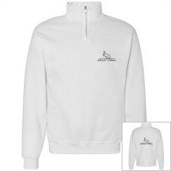 Half- zip sweatshirt