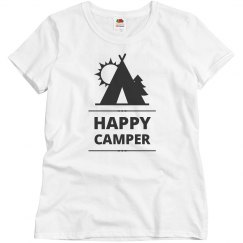 Happy Camper Graphic Tee