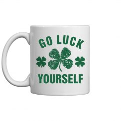 St Patricks Day Shamrock Mug