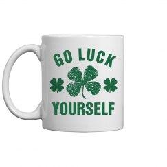 St Patricks Day Shamrock Mug