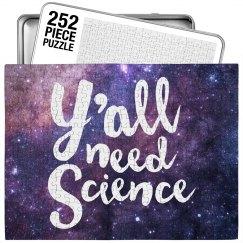 Fun Y'all Need Science Galaxy