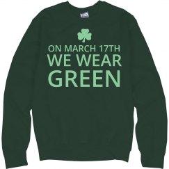 Wear Green Shamrock