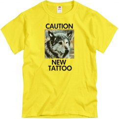 Caution New Tattoo Unisex T-Shirt