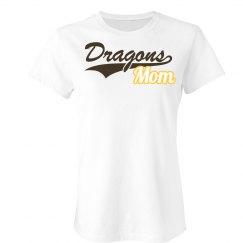 Dragons Mom Slim Fit