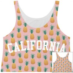 Trendy California Pineapple Pattern