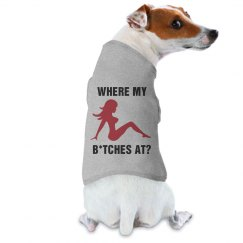 Dirty Dog Funny Pet Tee
