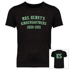 Mrs. Henry's Kindergartners