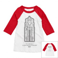 CBC 2020 Nutcracker Youth 3/4 Tee