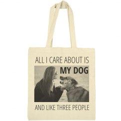 Funny Dog Mom Gift Custom Photo