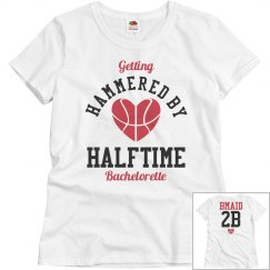Basketball Bachelorette Party Hammered Bridesmaids