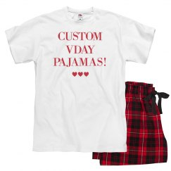 Custom Valentine's Pajamas For Your Family