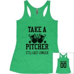 St. Patrick's Custom Bartender Design