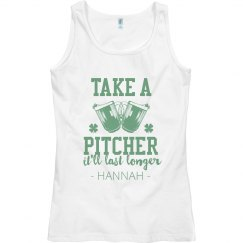 Custom Take A Pitcher St. Patrick's Day