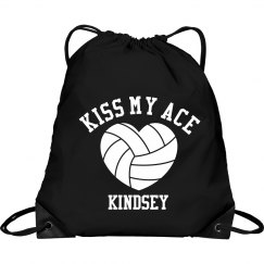 Volleyball Fan Kindsey