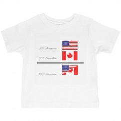 50% Canadian 10% Awesome.