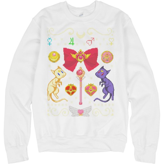 Anime Christmas Sweater.Japanese Anime Sweater