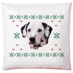 Custom Holiday Dog Pillowcase