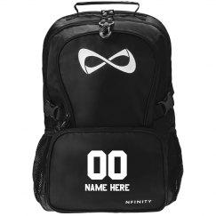 Custom Sports Name & Number Backbpack