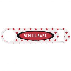 Custom School Name Bottle Opener