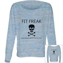 Fit Freak long sleeve off the shoulder