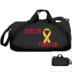 Duffle bag Ride on Fight on