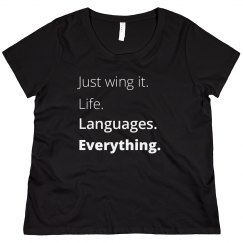 Just wing it. Up to 4X