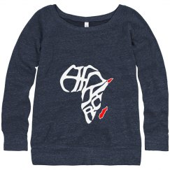 Africa-print Sweatshirt