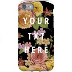 Custom Floral Case
