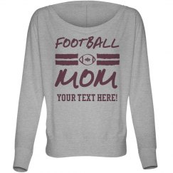 Trendy Football Mom Long Sleeve