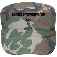 GROWNASSPINUPS.COM NSFW MILITARY CAP