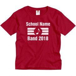 School Band Tee - Youth