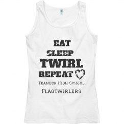 Eat Sleep Twirl Repeat Tank