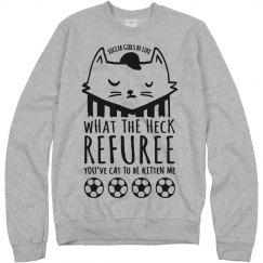 Cat To Be Kitten Soccer Referee