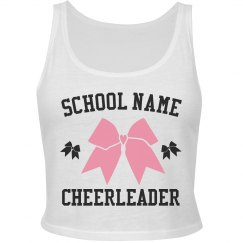 Custom Cheer Team Crop Top