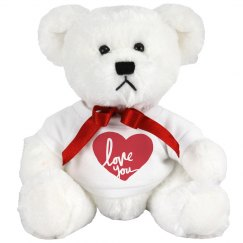 Valentine's Day Love You Bear