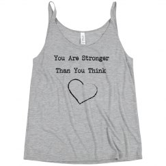 You are are stronger than you think